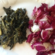 radicchio cooked and raw
