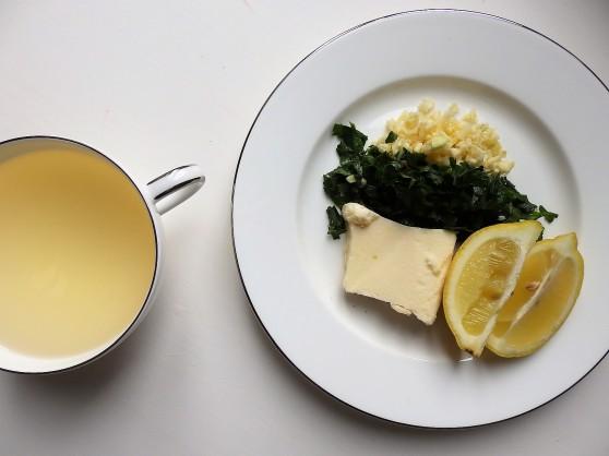 garlic, lemon, butter, parsley, wine